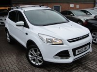 USED 2015 15 FORD KUGA 2.0 TITANIUM TDCI 5d 177 BHP ANY PART EXCHANGE WELCOME, COUNTRY WIDE DELIVERY ARRANGED, HUGE SPEC