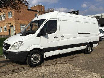 2013 MERCEDES-BENZ SPRINTER 2.1 313CDI LWB HIGH ROOF 130BHP. LOW 104K. BARAGIN. PX £6950.00