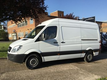 2012 MERCEDES-BENZ SPRINTER 2.1 313CDI MWB HIGH ROOF 130BHP. LOW 57,000 MILES. 1 OWNER. £9990.00
