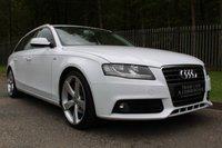 2011 AUDI A4 2.0 AVANT TDI E SE 5d 135 BHP £7250.00