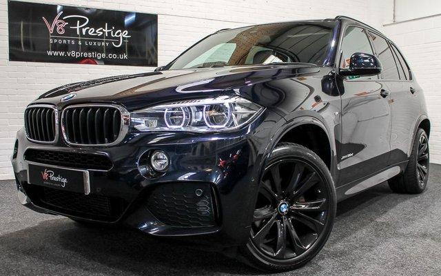 2015 15 BMW X5 3.0 XDRIVE30D M SPORT 5d AUTO 255 BHP