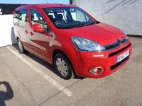 2013 CITROEN BERLINGO MULTISPACE 1.6 HDI VTR 5d 91 BHP    4 SEATER WITH WHEELCHAIR ACCESS AND RAMP £4975.00