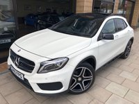 2015 MERCEDES-BENZ GLA-CLASS 2.1 GLA200 CDI AMG LINE PREMIUM PLUS 5d AUTO 136 BHP £21995.00