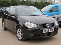USED 2008 08 VOLKSWAGEN POLO 1.2 MATCH 3d 68 BHP MOT APRIL 2019, 3 MONTHS AA WARRANTY + 12 MONTHS AA BREAKDOWN INCLUDED