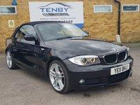 2011 BMW 1 SERIES 2.0 120I CONVERTIBLE  M SPORT 2d 168 BHP £10489.00