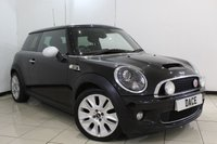 USED 2010 10 MINI HATCH COOPER 1.6 COOPER S CAMDEN 3DR 175 BHP HALF LEATHER SEATS + BLUETOOTH + CRUISE CONTROL + MULTI FUNCTION WHEEL + AUXILIARY PORT + AIR CONDITIONING + 17 INCH ALLOY WHEELS