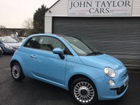2014 FIAT 500 1.2 LOUNGE 3d 69 BHP, ONE OWNER, LOW MILEAGE, ONLY £30 A YEAR ROAD TAX  £5948.00
