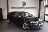 USED 2012 12 AUDI A3 2.0 SPORTBACK TDI S LINE SPECIAL EDITION 5d 138 BHP + HALF BLACK LEATHER INTERIOR + FULL SERVICE HISTORY + BLUETOOTH + SPORT SEATS + AUXILIARY PORT + HEATED MIRRORS + 18 INCH ALLOY WHEELS +