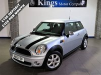 2010 MINI HATCH ONE 1.6 ONE 3dr  £4780.00