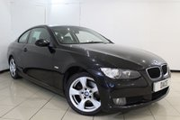 USED 2007 57 BMW 3 SERIES 2.0 320D SE 2DR 175 BHP SERVICE HISTORY + LEATHER SEATS + PARKING SENSOR + CRUISE CONTROL + MULTI FUNCTION WHEEL + CLIMATE CONTROL + AUXILIARY PORT + 17 INCH ALLOY WHEELS