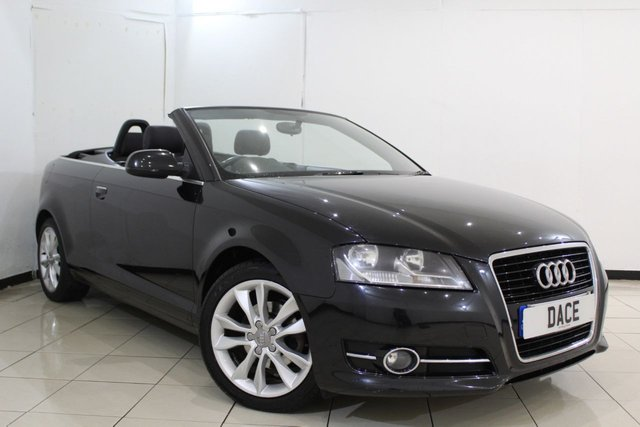 View our 2012 12 AUDI A3 CABRIOLET 1.6 TDI SPORT 2DR 103 BHP CABRIOLET