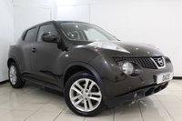 USED 2010 60 NISSAN JUKE 1.6 ACENTA SPORT DIG-T 5DR 190 BHP SERVICE HISTORY + BLUETOOTH + CRUISE CONTROL + MULTI FUNCTION WHEEL + AIR CONDITIONING + AUXILIARY PORT + 17 INCH ALLOY WHELS