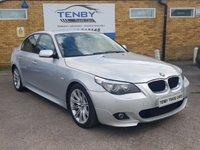 2009 BMW 5 SERIES 2.0 520D M SPORT 4d 175 BHP £4484.00