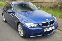 USED 2007 57 BMW 3 SERIES 2.0 320D M SPORT 4d 174 BHP SERVICE HISTORY, HEATED SPORTS RECARO SEATS, RADIO CD PLAYER, 6 SPEED MANUAL