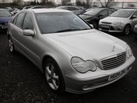 2004 MERCEDES-BENZ C CLASS 1.8 C200 KOMPRESSOR AVANTGARDE SE 4d AUTO 163 BHP £SOLD