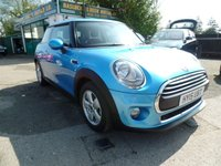 2015 MINI HATCH ONE 1.2 ONE 3d 101 BHP £9499.00