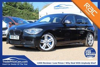 2015 BMW 1 SERIES 2.0 125D M SPORT 5d AUTO 215 BHP £16950.00