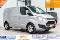 2016 FORD TRANSIT CUSTOM 2.2 290 LIMITED LR P/V *FORD WARRANTY UNTIL JULY 2019* £13995.00