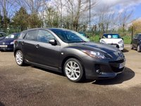 2012 MAZDA 3 1.6 SPORT 5d WITH A VERY LOW MILEAGE £6250.00
