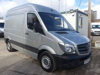USED 2015 64 MERCEDES-BENZ SPRINTER 313 CDI SWB HI ROOF, 130 BHP [EURO 5], AIR CONDITIONING