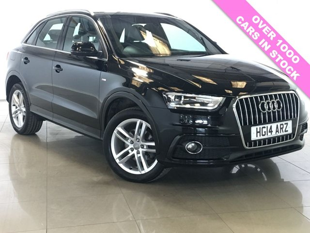 View our 2014 14 AUDI Q3 2.0 TDI S LINE 5d 138 BHP