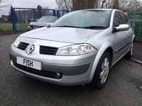 USED 2005 05 RENAULT MEGANE 1.5 DYNAMIQUE DCI 5d 80BHP 30 ROAD TAX+LAST OWNER 7YEARS+