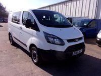 USED 2015 65 FORD TRANSIT CUSTOM 2.2 270 SWB LR Double Cab 99 BHP
