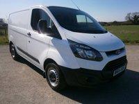 2014 FORD TRANSIT CUSTOM 2.2 290 LR P/V 1d 124 BHP £10995.00