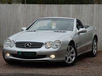 2003 MERCEDES-BENZ SL 3.7 SL350 2d AUTO 245 BHP £7250.00