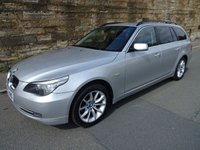 USED 2007 07 BMW 5 SERIES 2.5 525D SE TOURING 5d AUTO 195 BHP