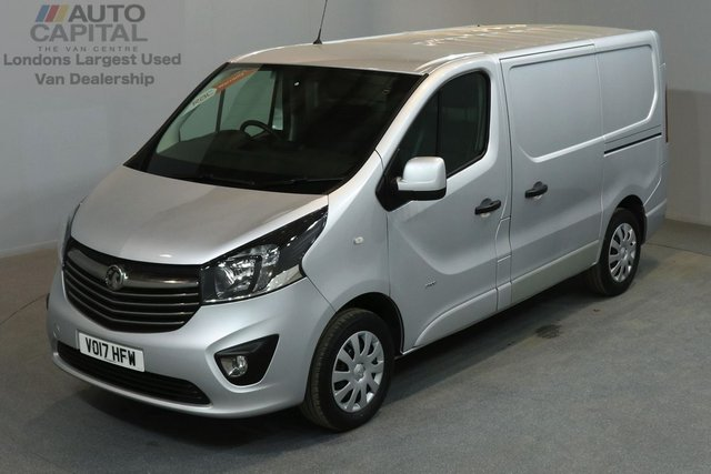2017 17 VAUXHALL VIVARO 1.6 2900 SPORTIVE 120 BHP SWB LOW ROOF A/C E6 ONE OWNER FROM NEW, MANUFACTURER WARRANT UNTIL 3/07/2020