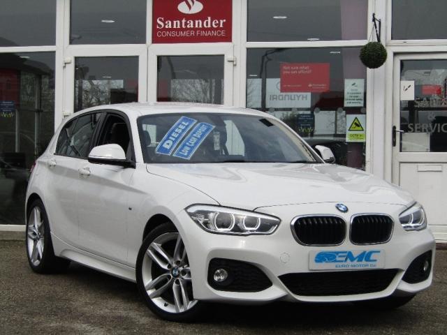 2015 65 BMW 1 SERIES 2.0 120d M Sport Sports Hatch (s/s) 5dr
