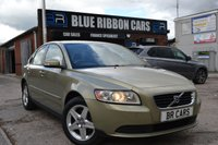 USED 2008 08 VOLVO S40 1.6 S 4d 100 BHP just had a service and mot