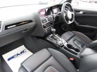 USED 2013 63 AUDI A4 3.0 TDI Black Edition S Tronic Quattro 4dr FSH. SAT NAV LEATHER JUST IN
