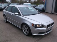 USED 2005 05 VOLVO S40 2.0 SE SPORT D 4d 135 BHP AFFORDABLE FAMILY CAR IN EXCELLENT CONDITION, DRIVES SUPERBLY WITH SERVICE HISTORY !!!!!