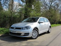 2014 VOLKSWAGEN GOLF 1.2 S TSI BLUEMOTION TECHNOLOGY 5d 84 BHP £9250.00