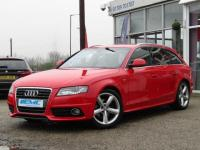 USED 2009 58 AUDI A4 2.0 TDI S line 5dr FSH. SAT NAV. LEATHER