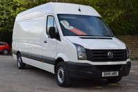 USED 2015 15 VOLKSWAGEN CRAFTER 2.0 CR35 TDI H/R P/V 109 BHP