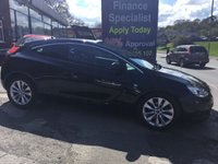 USED 2014 14 VAUXHALL ASTRA 2.0 GTC SRI CDTI S/S 3d 162 BHP, only 25000 miles ***GREAT FINANCE DEALS AVAILABLE***