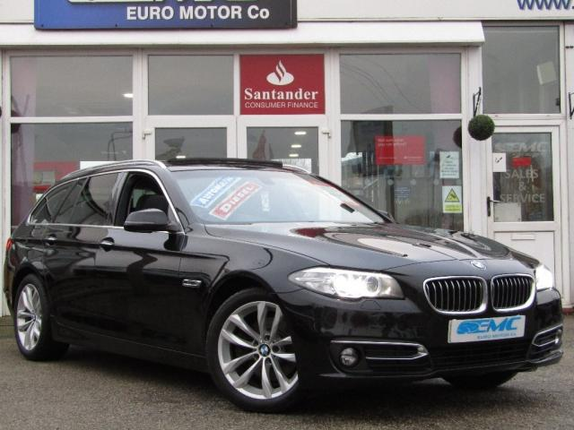 2015 65 BMW 5 SERIES 2.0 520d Luxury Touring Auto 5dr