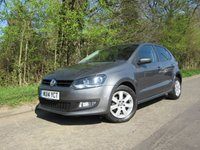 2014 VOLKSWAGEN POLO 1.4 MATCH EDITION 5d 83 BHP £8895.00