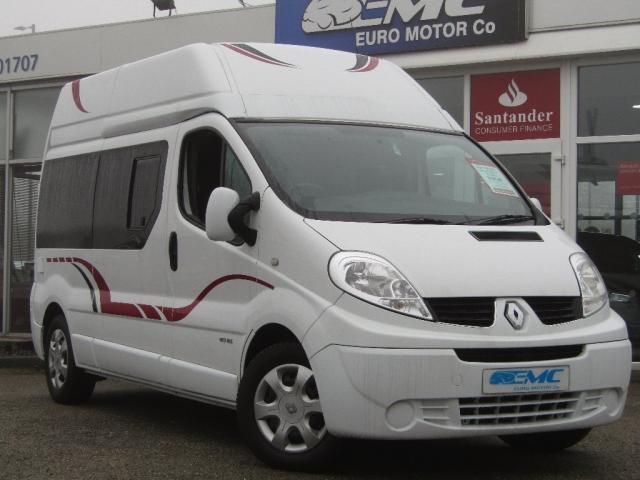 2014 14 RENAULT TRAFIC 2.0DCI 115 HIGH ROOF 2 BERTH CAMPER VAN