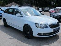 2014 SKODA SUPERB 2.0 ELEGANCE TDI CR DSG 5d AUTO 168 BHP £15499.00