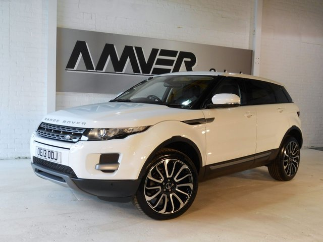 2013 13 LAND ROVER RANGE ROVER EVOQUE 2.2 SD4 PURE TECH 5d 190 BHP