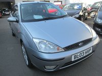 USED 2003 03 FORD FOCUS 1.8 MP3 3d 114 BHP