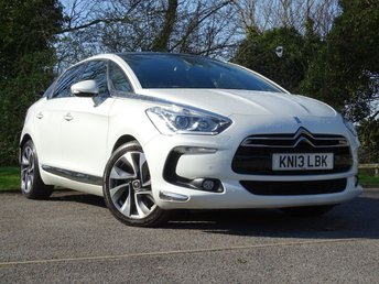 2013 CITROEN DS5 2.0 HDI DSPORT 5d  £10000.00