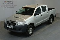 USED 2013 13 TOYOTA HI-LUX 2.5 HL2 4X4 D-4D 142 BHP MWB A/C ONE OWNER FROM NEW, FULL SERVICE HISTORY
