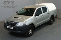 USED 2012 12 TOYOTA HI-LUX 2.5 HL2 4X4 142 BHP MWB A/C ONE OWNER FROM NEW, SERVICE HISTORY