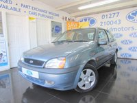 2001 FORD FIESTA 1.2 FREESTYLE 16V 3d 74 BHP £1000.00