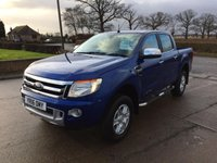 USED 2016 16 FORD RANGER 2.2 LIMITED 4X4 DCB TDCI 1d 148 BHP